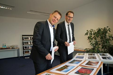 Jurysitzung: Torsten Bonew, Volker Bremer
