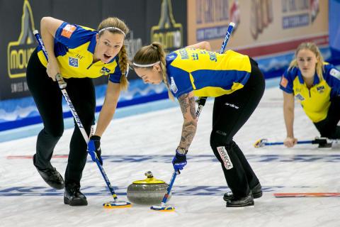 Curling-EM 2016: Förlust för lag Hasselborg mot Skottland