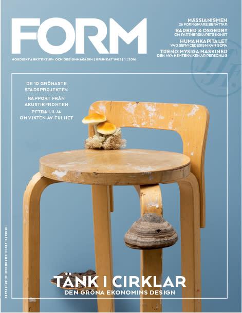 Nytt nummer av Form: Framtiden är cirkulär