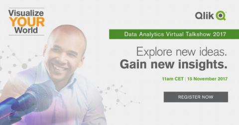 Visualize YOUR world 2017 Data Analytics Virtual Talkshow 2017