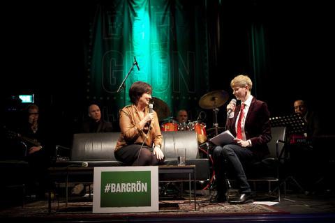 Miljöpartiet gör politisk talkshow
