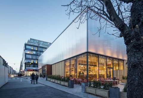 Uppskattad saluhall nu prisbelönt med Sveriges största designpris