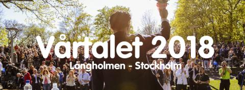 Inbjudan: Jimmie Åkessons vårtal lördag den  5 maj