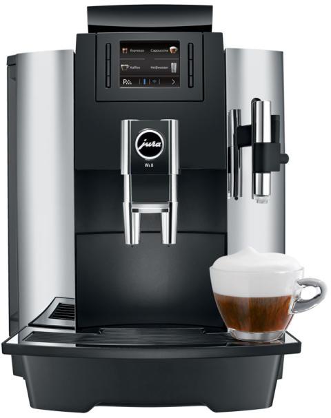 Die neuen JURA-Kaffeevollautomaten WE6 und WE8 bei Coffeeontop