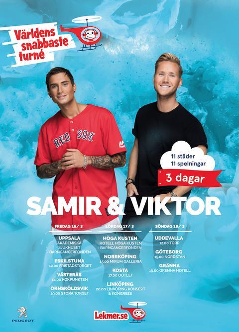 """Samir och Viktors """"Shuffla"""" toppar Spotify och intresset är skyhögt för det kommande Världsrekordet som går av stapeln helgen 16-18/3."""