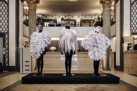 Fashion Week checkar in på Grand Hôtel