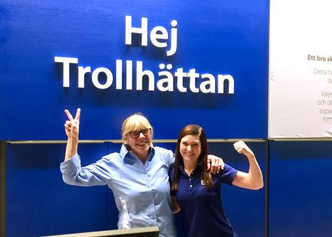 JYSK i Trollhättan flyttar till Överby köpcenter