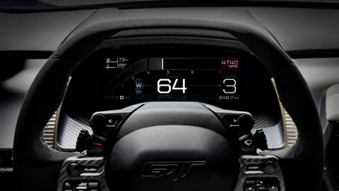 Ford GT Instrumentpanel - Wet Mode