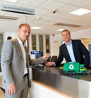 Ragn-Sells i storaffär med Volvo Lastvagnar för en effektivare och grönare fordonsflotta