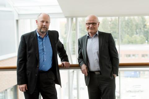 Jarle Sky og Helge Strømme