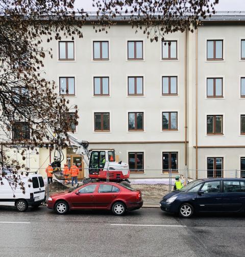 Nu hyrs det första Stockholmshuset ut