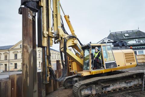 Sista spontslaget inför byggandet av SeaU Helsingborg