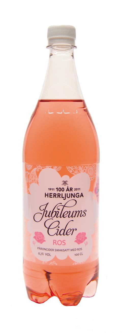 Herrljunga Jubileumscider med smak av Ros 100 cl