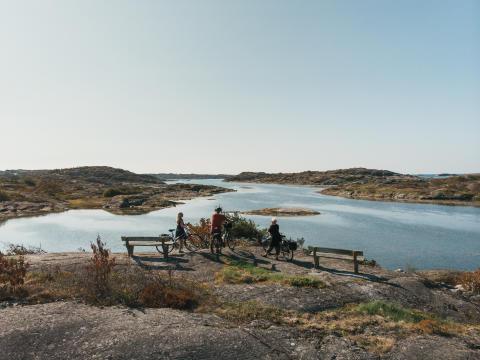 Cykler i Hönö skærgård