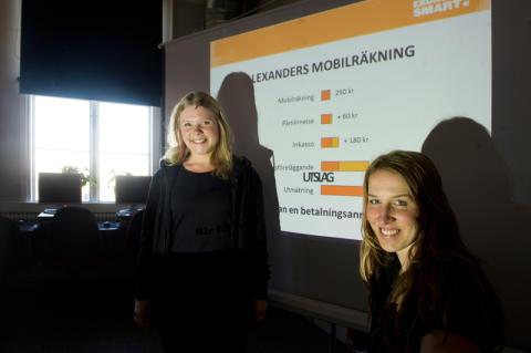 Varning för snabba cash! Ekonomismart besöker politikerveckan i Almedalen