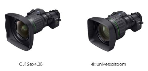 "Canon presenterar världens vidaste 2/3"" 4k portabla broadcast-objektiv* CJ12ex4.3B"
