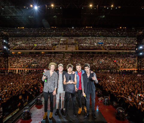 "One Direction bjuder på exklusiv biohelg 11-12 oktober med konsertfilmen ""Where We Are"""