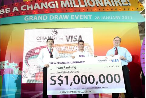 Former Radio DJ Ivan Rantung made a Millionaire at Changi Airport