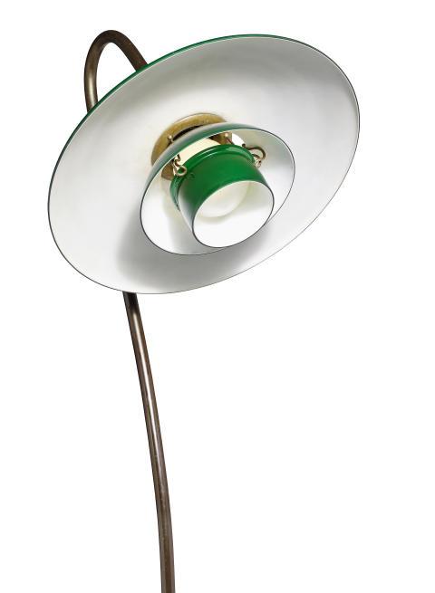 """Poul Henningsen : """"PH-3/2"""". Rare floor lamp"""