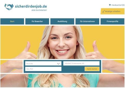 Jetzt durchstarten mit sicherdirdenjob.de, dem neuen Stellenportal für die Region Bremen, Oldenburg, Hannover und Hamburg