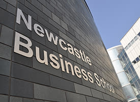 Newcastle Business School first in North East receives Small Business Charter