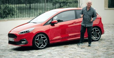 Se Jan Erik Larssen kjøre «verstingen» - nye Ford Fiesta ST