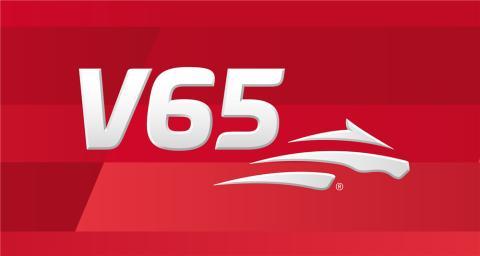 V65 logga