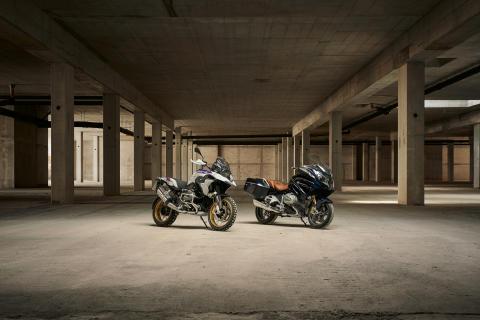 Her er nye BMW R 1250 GS og nye BMW R 1250 RT