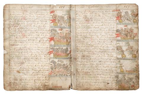 Nils Trosners dagbok  1710–1714