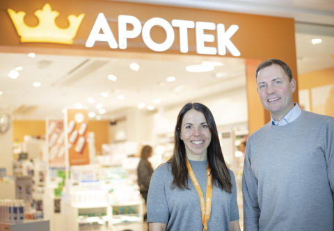 Charlotte Kalla och Kronans Apotek utvecklar hållbar hudvård i nytt samarbete