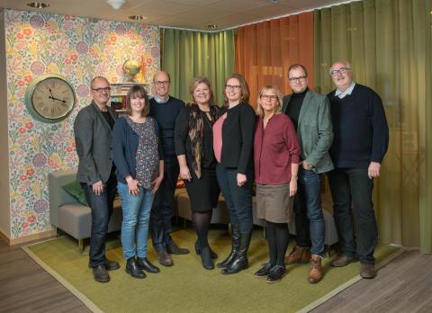 Uppsalahems ledningsgrupp 2017