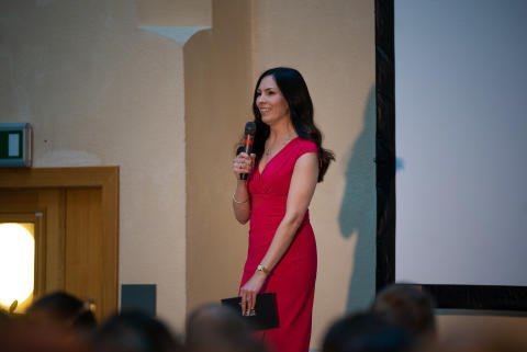 Ann Molin, projektledare för Hack for Sweden inleder helgens event