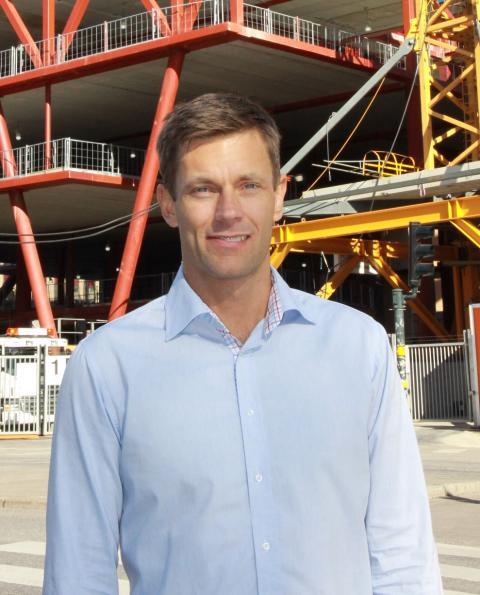 Björn Åstedt ny VD för Stålbyggnadsinstitutet (SBI)