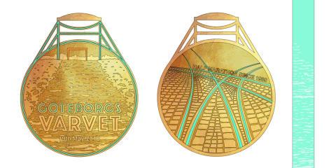 9 000 löpare röstade om Varvetmedaljen