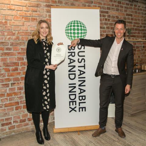 Sustainable Brand Index Awards Norway 2019