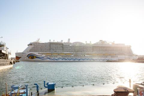 """LNG-Kreuzfahrtschiff """"AIDAnova"""""""