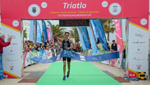 Triathlete Ben Dijkstra shortlisted for SportsAid's One-to-Watch Award