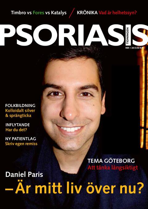 Framsida Psoriasistidningen nummer 1-2015