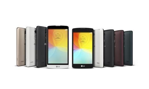 LG'S UNIKKE REAR KEY-DESIGN GØR SIN ENTRE I L-SERIEN MED DE NYE 3G-MOBILER L FINO OG L BELLO