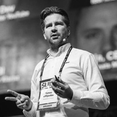 Andreas Liffgarden är grundare och ordförande i Soundtrack Your Brand och var tidigt anställd på Spotify.