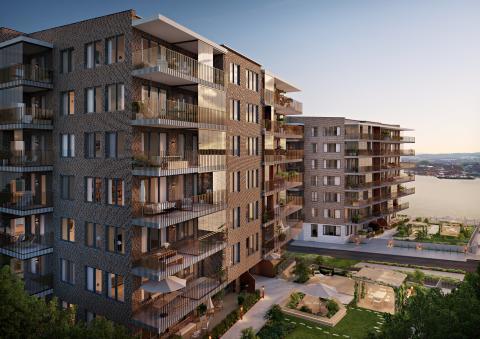 Pressinbjudan: Byggstart för Riksbyggens Brf Salteriet  i Västra Eriksberg, Göteborg