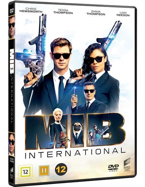 MEN IN BLACK INTERNATIONAL, DVD