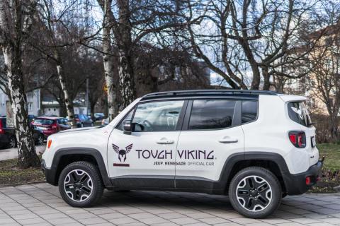 Jeep® är officiell bilpartner för Tough Viking