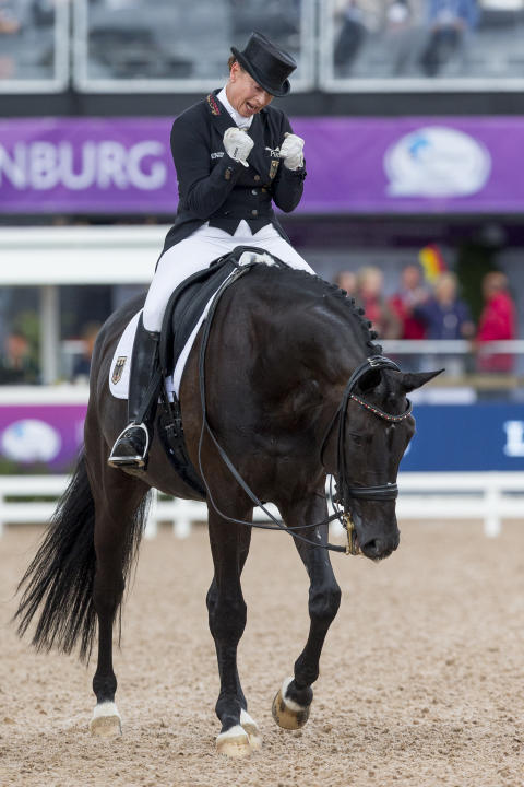 Werth wins ferocious battle for Dressage Freestyle gold