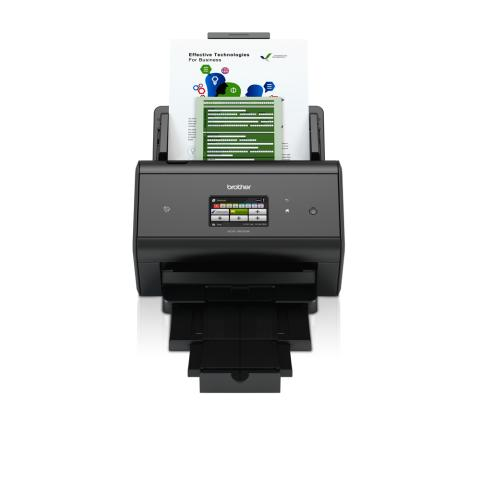 Brother ADS-3600W opfylder alle krav til en kompakt desktopscanner