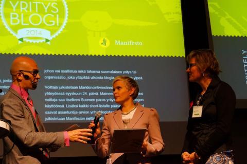 Atrian jäljitettävyydestä syntyi Suomen paras yritysblogiteksti