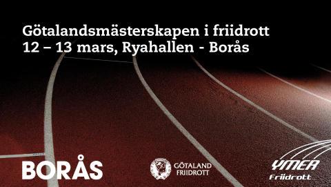 Unga friidrottare gör upp i mästerskap i Borås