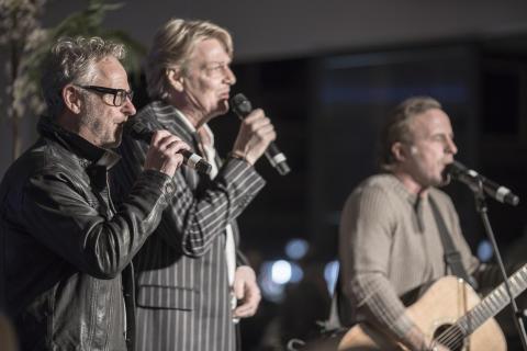 Foto: Uno Svenningsson, Tommy Nilsson och Patrik Isaksson
