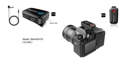 Saramonic_Blink500 B1-Camera
