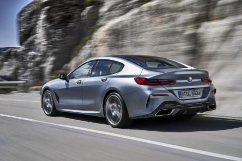 Här är nya BMW 8-serie Gran Coupé